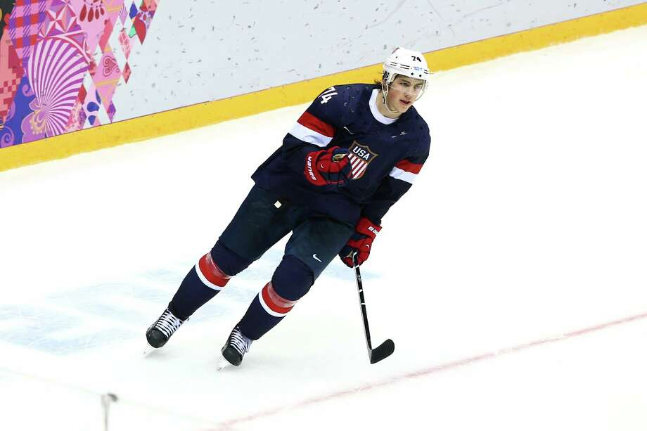 T.J. OshieSport: Ice hockeyAge: 27Results: Team USA finished fourth.Local connection: Grew up Everett and Stanwood before moving to Minnesota in high school. Photo: Clive Mason, Getty Images / 2014 Getty Images