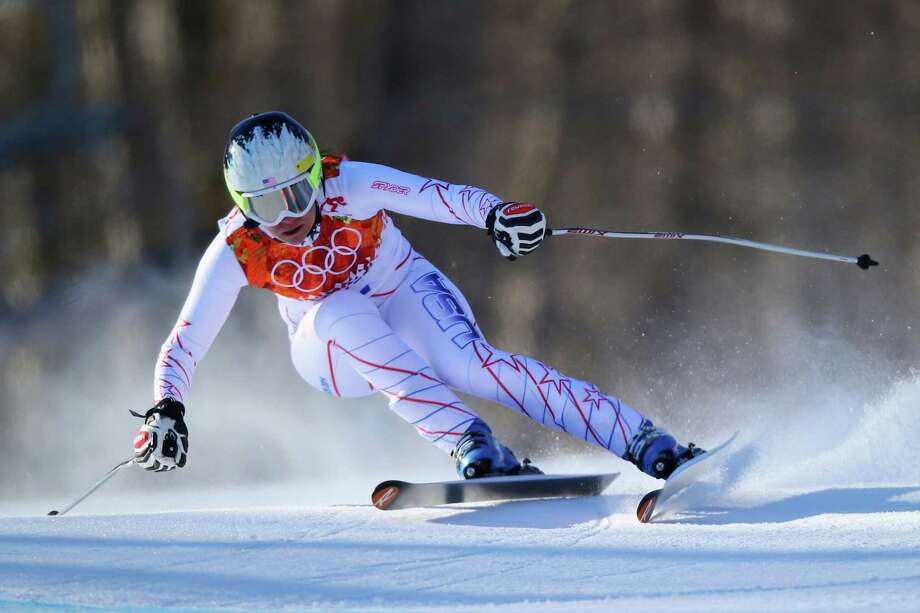 Jacqueline WilesSport: Alpine skiingAge: 21Results: 26th place (ladies' downhill)Local connection: Grew up in Aurora, Ore., outside of Portland, skiing with the White Pass Ski Club in Washington. Photo: Clive Rose, Getty Images / 2014 Getty Images