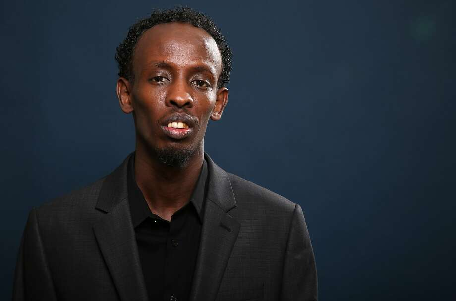 "Barkhad Abdi at the nominees luncheon in 2014. He's so new to Hollywood, we have no ""then"" photos! Photo: Matt Sayles, Associated Press"