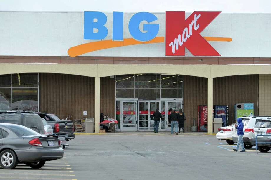 A view of the Kmart store on Routes 9 and 20 on Monday, Feb. 24, 2014, in East Greenbush, N.Y.  The store will close in June.   (Paul Buckowski / Times Union) Photo: Paul Buckowski / 00025865A