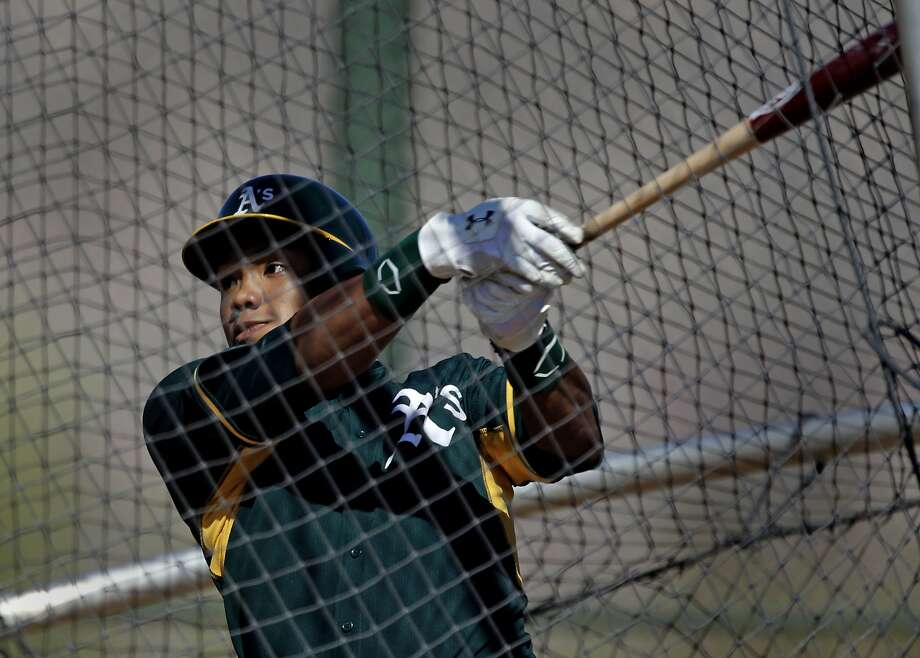 "Addison Russell thinks the A's ""have a lot of faith in me and I just want to ... prove 'em right."" Photo: Michael Macor, The Chronicle"