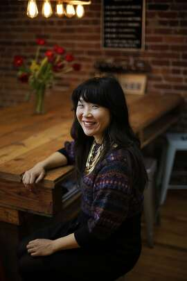 Sarah Han, the content director for The Bold Italic, in the company's San Francisco, Calif., offices on Wednesday, February 19, 2014.