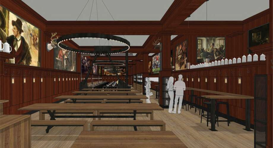 Rendering of the revamped Schroeder's Photo: BCV Architects