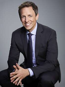 "Seth Meyers, ""Late Night"" hostLongtime pal Amy Poehler writes of her former ""SNL"" castmate, "" It's a brutal business, this late-night game. Thankfully the new kid in town is an old pro with a kind set of eyes and the skills to pay the bills."" Photo: Rodolfo Martinez, NBC"