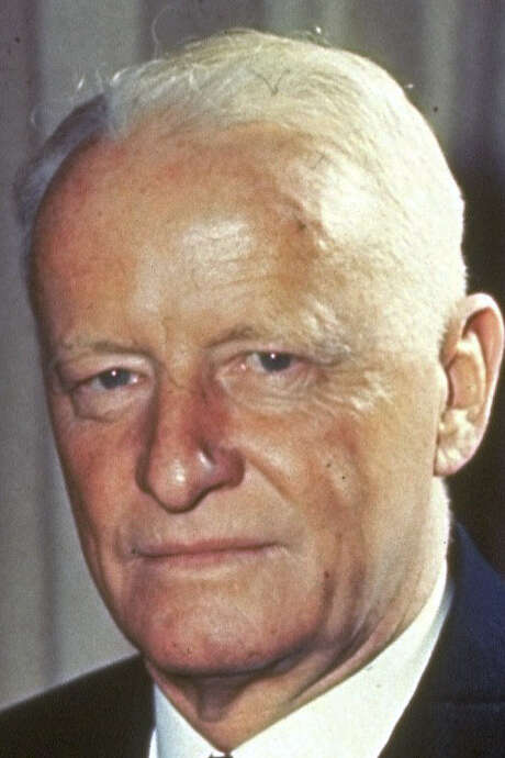Adm. Chester W. Nimitz, commander of the Pacific fleet, in an undated photo from World War II. / AP
