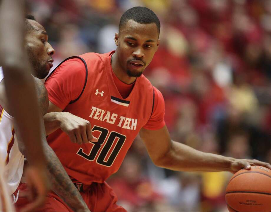 Knee tendinitis limited Tech forward and leading scorer Jaye Crockett to six points in an 84-62 loss to Oklahoma State on Saturday. Crockett is expected to play tonight against Kansas State. Photo: Justin Hayworth / Associated Press / FR170760 AP