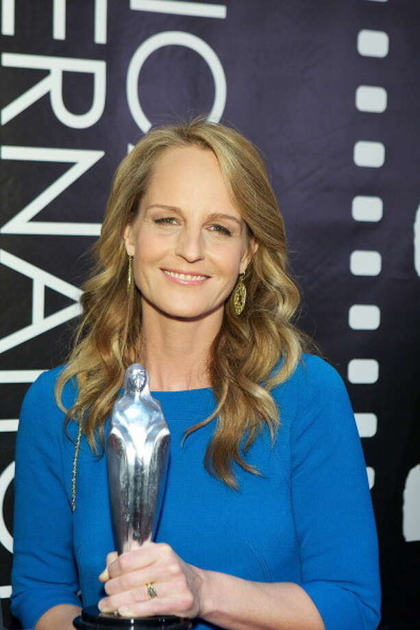 "Helen Hunt attends the ""The Sessions"" premiere.  If Amy Adams didn't win against Anne Hathaway, then Helen  Hunt should have. Photo: Jeff Schear, FilmMagic"