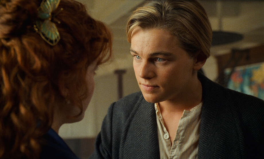 Leonardo DiCaprio in TITANIC (1997): Say what you want about the movie, but DiCaprio was the heart and soul of the whole enterprise, and he wasn't even nominated. (Jack Nicholson won that year for AS GOOD AS IT GETS.) Photo: Merie Weismiller Wallace, Paramount /Twentieth Century Fox / © 2012 Paramount Pictures and Twentieth Century Fox.  All Rights Reserved.