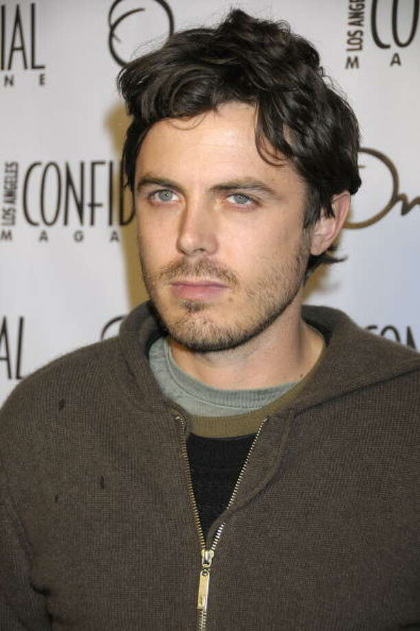 In retrospect, Casey Affleck's sniveling, nuanced performance as Robert Ford (in THE ASSASSINATION OF JESSE JAMES) was more interesting than Javier Bardem's assassin in NO COUNTRY FOR OLD MEN.  Affleck should have won supporting actor. Photo: Charley Gallay, Getty Images