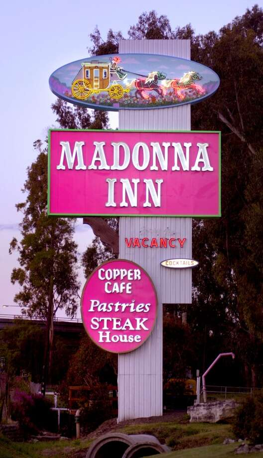 Madonna InnThe San Luis Obispo motel has been outlandishly pink since 1958. Photo: Kim Komenich, The Chronicle