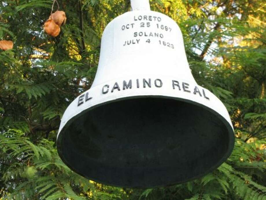 El Camino Real bellsThe bells marking the historic Mission route have been around since 1906, though many of the current bells are replicas using the original molds. Photo: Stephanie Hession, The Chronicle