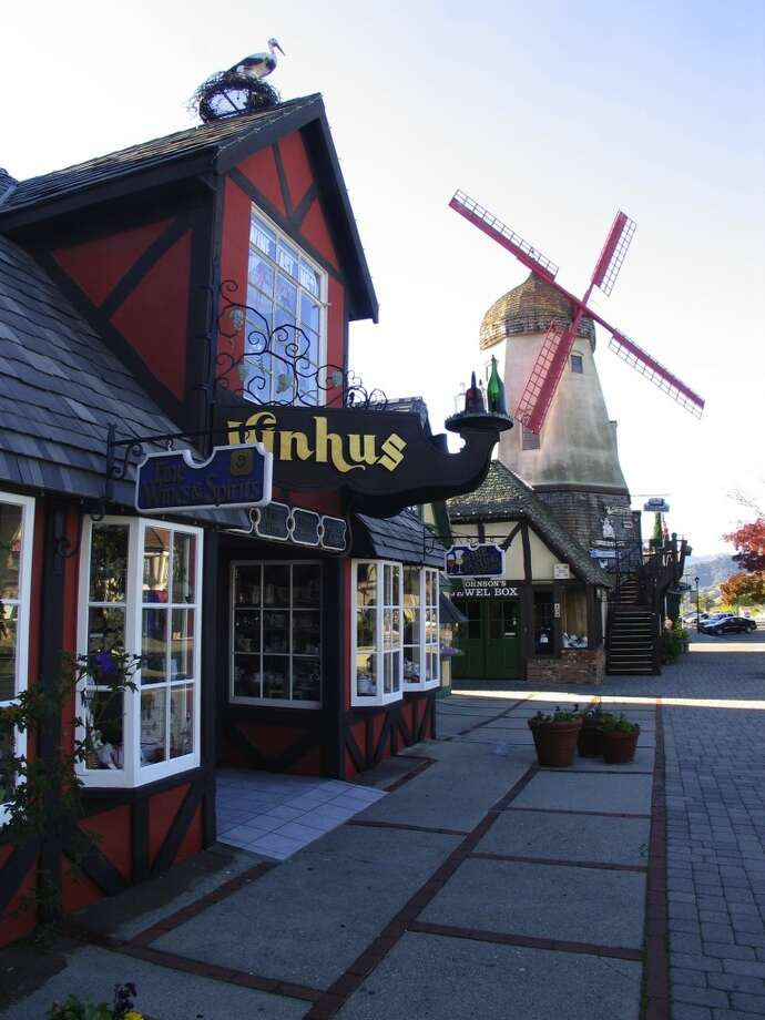 Solvang, the Danish town