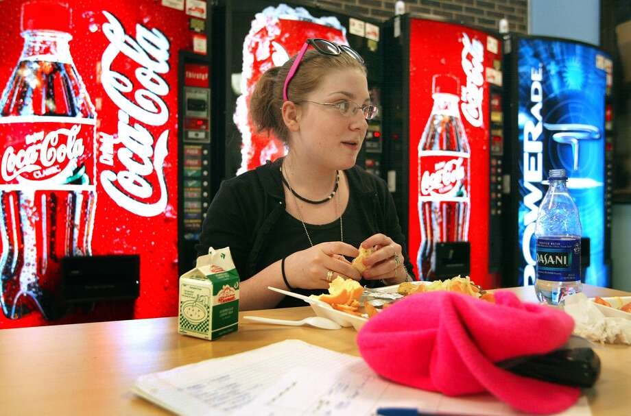 Soda so good?  Not anymoreThe number of teens who reported drinking one or more sodas a day was down 1% from 28% in 2011 to 27% in 2013.  In 2007 34% were reporting drinking at least one soda a day. Photo: Tim Boyle, Getty Images News