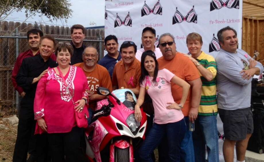 Who's who of radio/TV: Notables supported Lisa-Lisa at cancer fundraiser. Photo: Courtesy