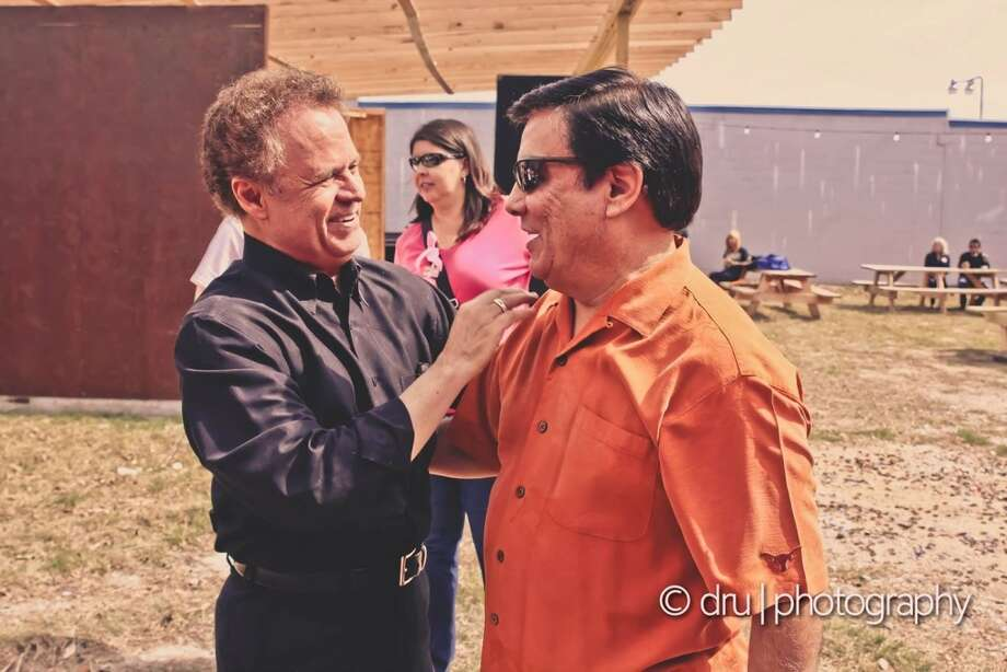 Sonny Melendrez and Albert Flores. Photo: Dru Photography/Design