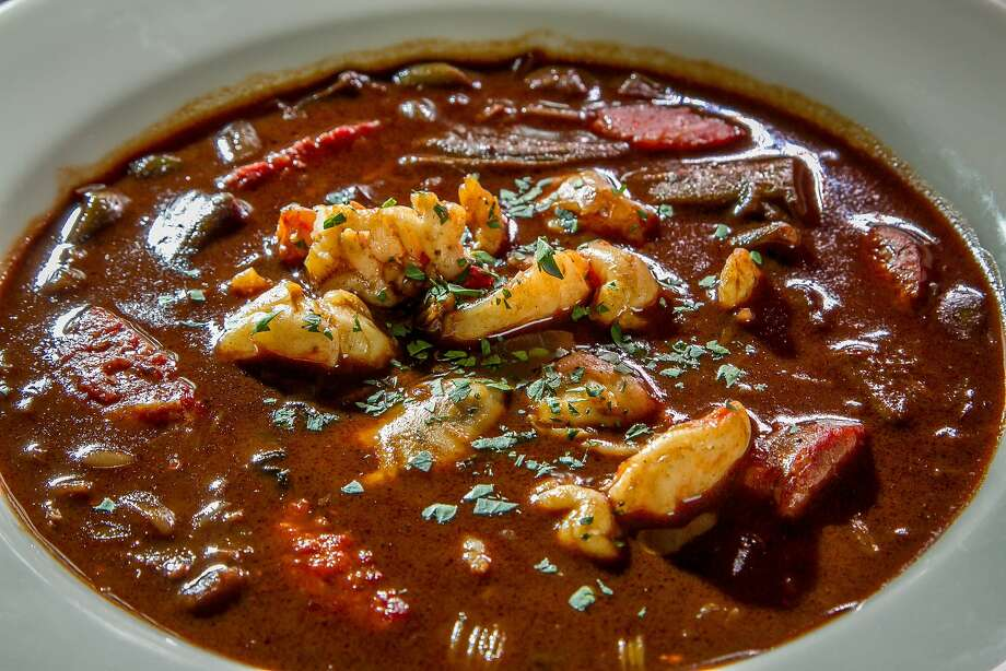 Seafood gumbo at Hard Water in S.F. Photo: John Storey, Special To The Chronicle