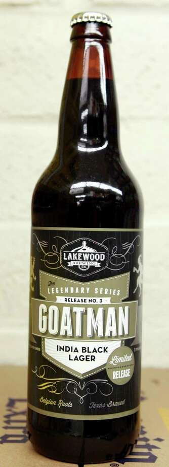 Goatman brewed by Lakewood Brewing Company is shown Friday, Feb. 21, 2014, in Houston. Joey Williams is the beer department manager at Spec's. ( Melissa Phillip / Houston Chronicle ) Photo: Melissa Phillip, Staff / © 2014  Houston Chronicle