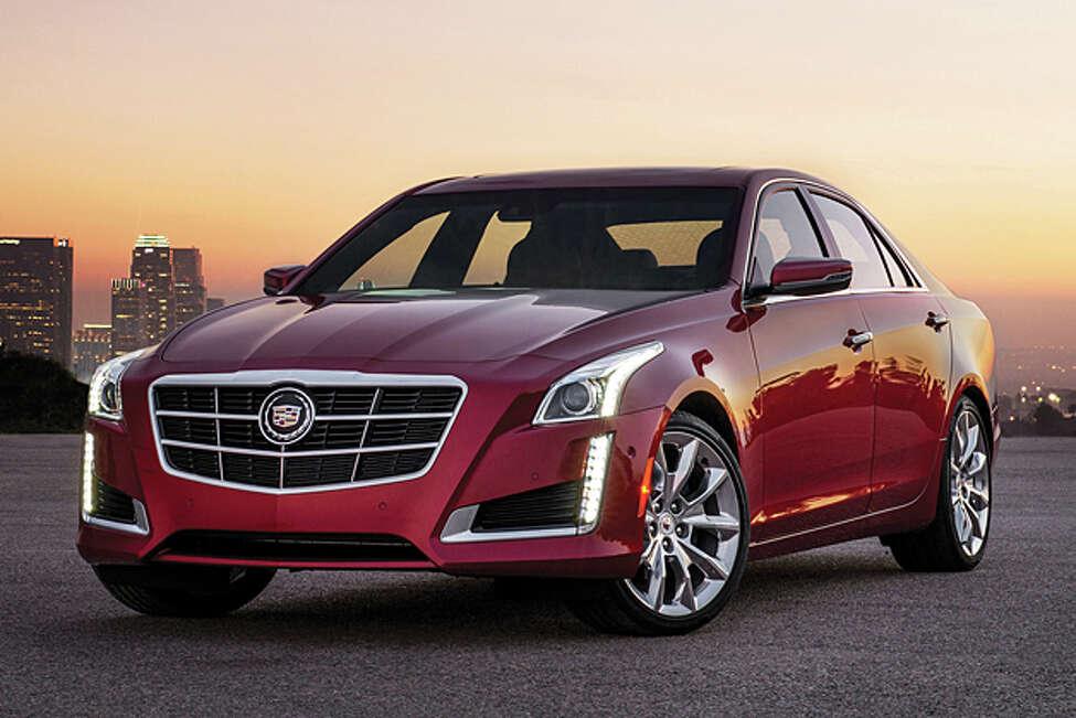 CTS Quartet: 2014 Cadillac CTS AWD 2.0T Premium Sedan (photo courtesy GM)