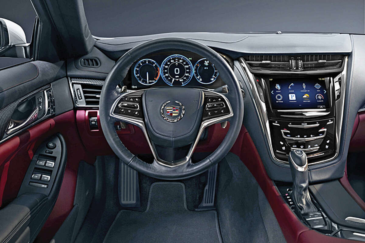 CTS Quartet: 2014 Cadillac CTS AWD 2.0T Premium Sedan (photo courtesy GM)