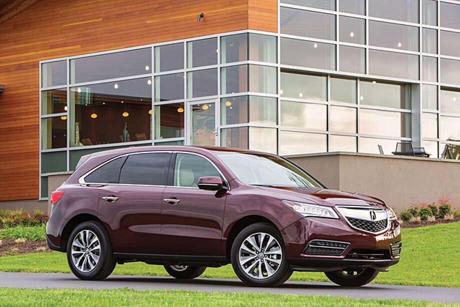 2014 Acura MDX (photo courtesy Acura) Photo: Honda / © 2013 American Honda Motor Co., Inc.