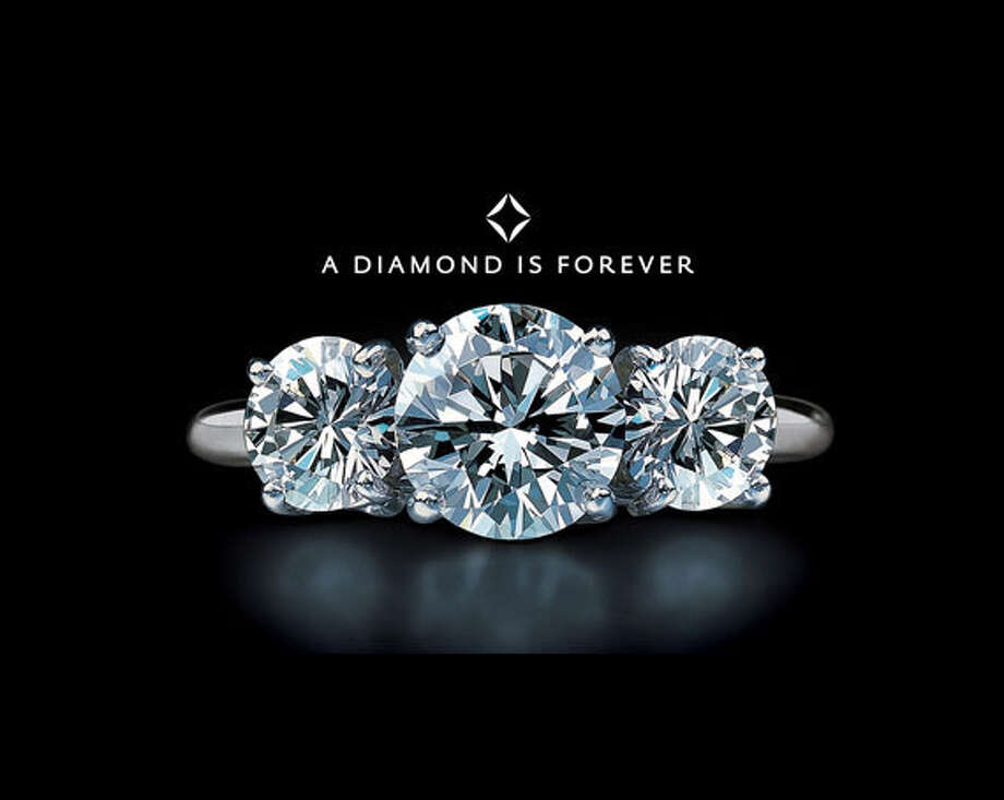 "DeBeers' ""A diamond is forever"" doomed men looking to save a buck on Valentine's Day for eternity."