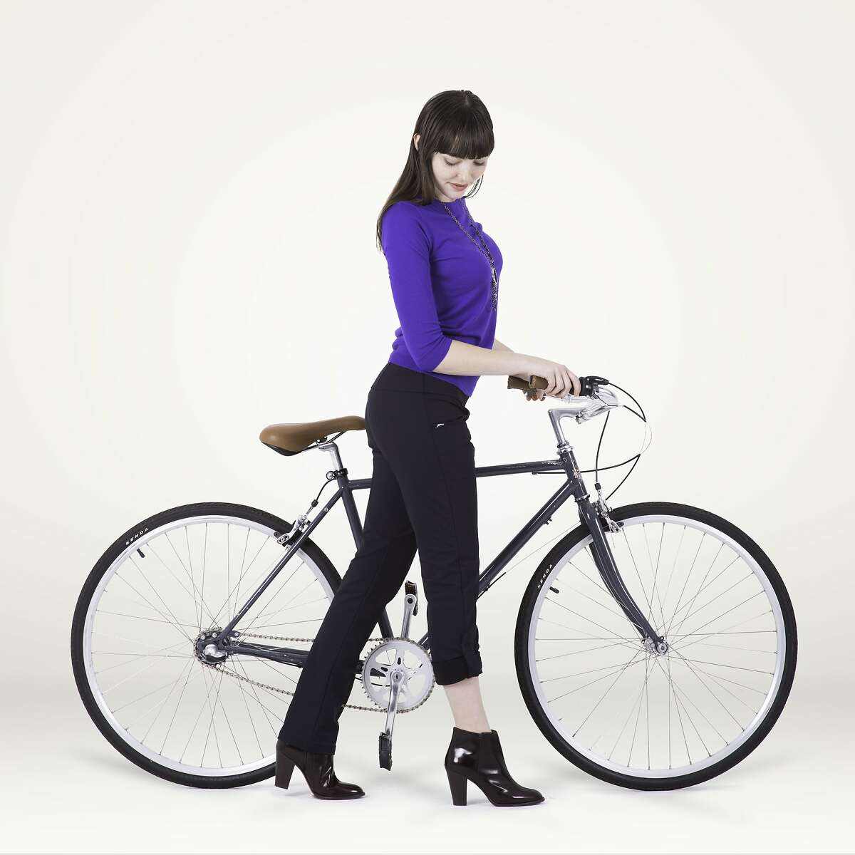 """Iladora Apparel, founded by San Francisco's Ilana Siegelman and Meghan Murphy just more than a year ago, was created specifically for women commuters like them. They started with the """"Perfect Bike Pant,"""" which was inspired by equestrian gear with working gals in mind. Features includes splash-resistant fabric, a waistband that prevents rear-end peek-a-boo and a trouser-like silhouette. The Perfect Bike Pant, Iladora Apparel, $135, www.iladora.com"""