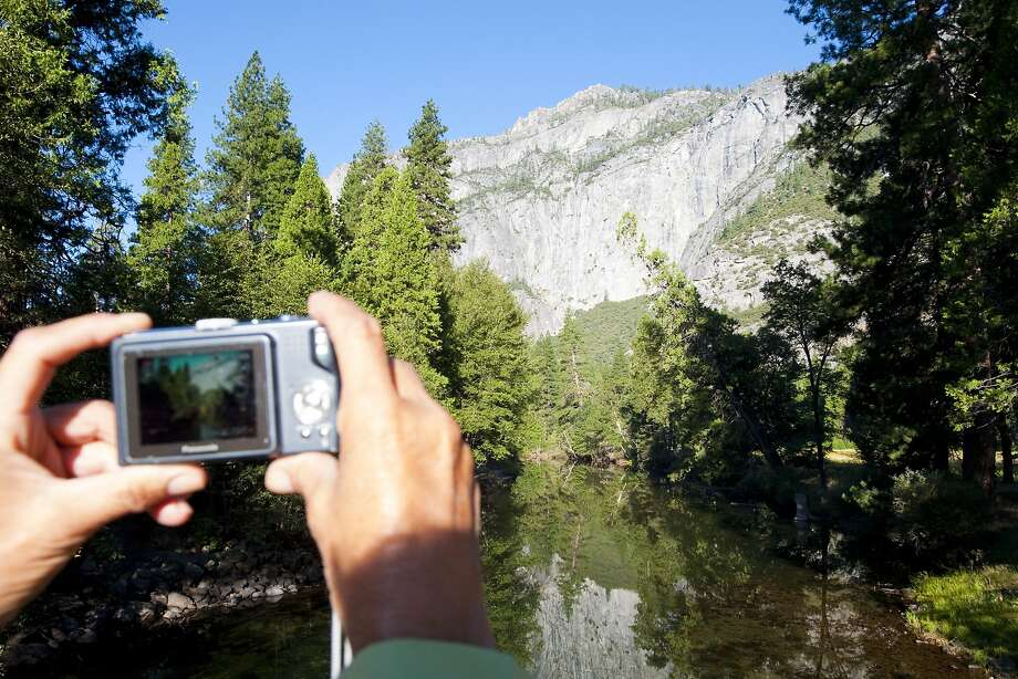Visitors find themselves yearning to be artists whenever they encounter Yosemite National Park's incomparable beauty. Photo: Andreas Hub, California Travel & Tourism Comm