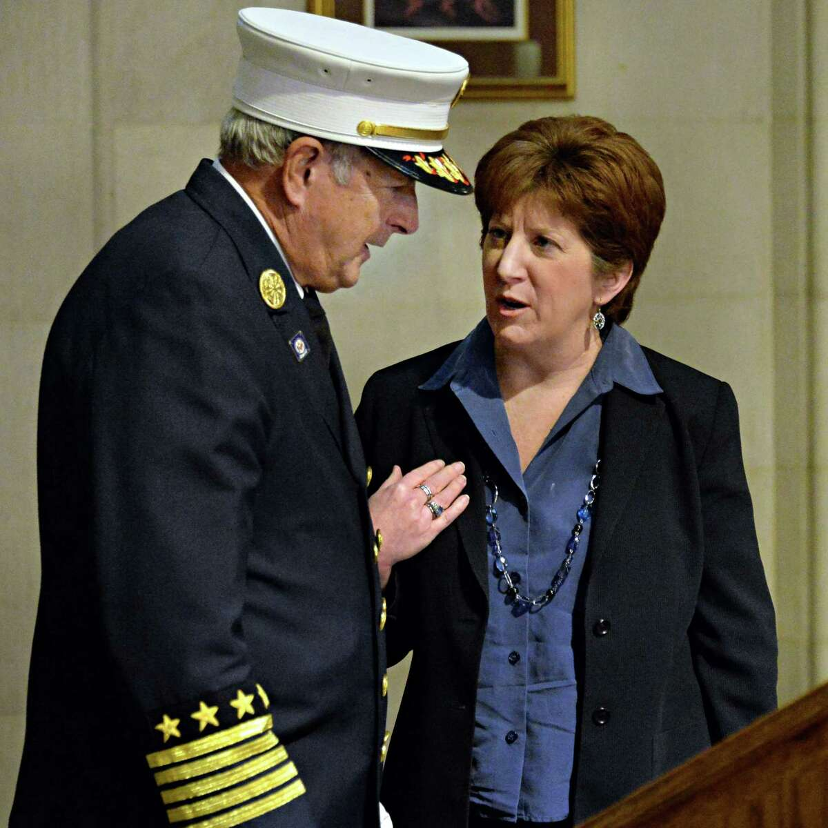 Photos: New Albany Fire Chief Sworn In