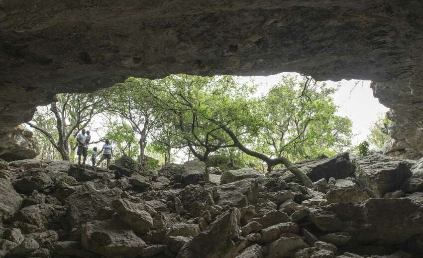 2. Get lost in the Cub Cave in Stone Oak. Located on the city's North Side, a hidden jewel of nature tucked just a stone's throw from rush-hour traffic tie-ups and continued urban development.
