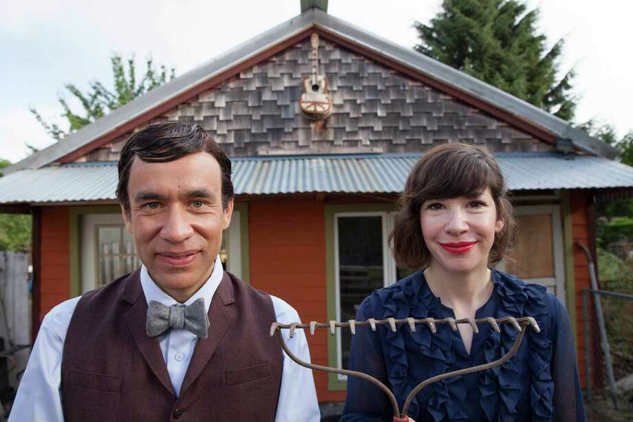 "Fred Armisen, left, and Carrie Brownstein star in ""Portlandia."" The fourth season premieres at 9 p.m. Thursday on IFC. Photo: HOEP / IFC TV"