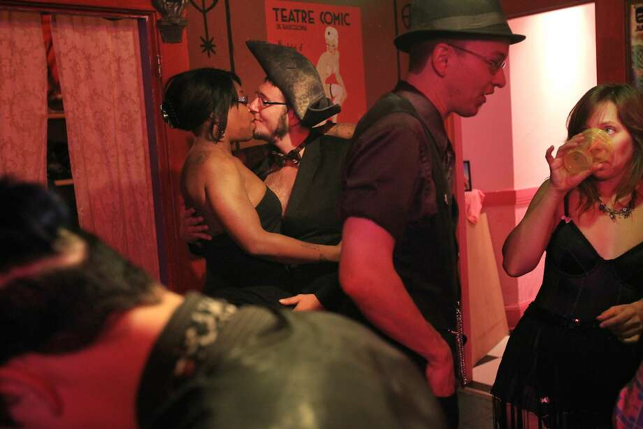 Don't forget to throw in something about sex clubs in the Mission, even if you can't find one.  Photo: Leah Millis, The Chronicle