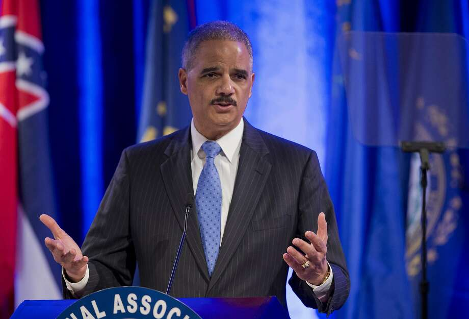 Attorney General Eric Holder says laws raising questions of equal protection deserve a higher level of scrutiny. Photo: Manuel Balce Ceneta, Associated Press