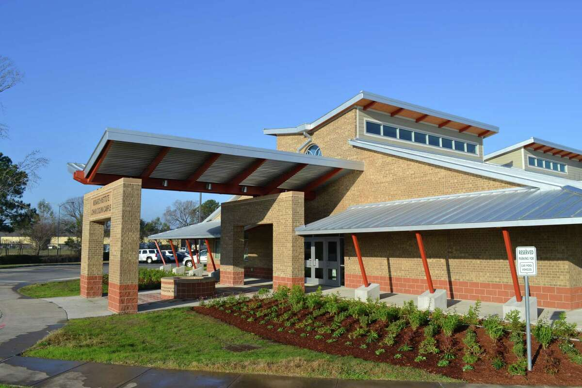 This is one of the new buildings at the Monarch Institute.