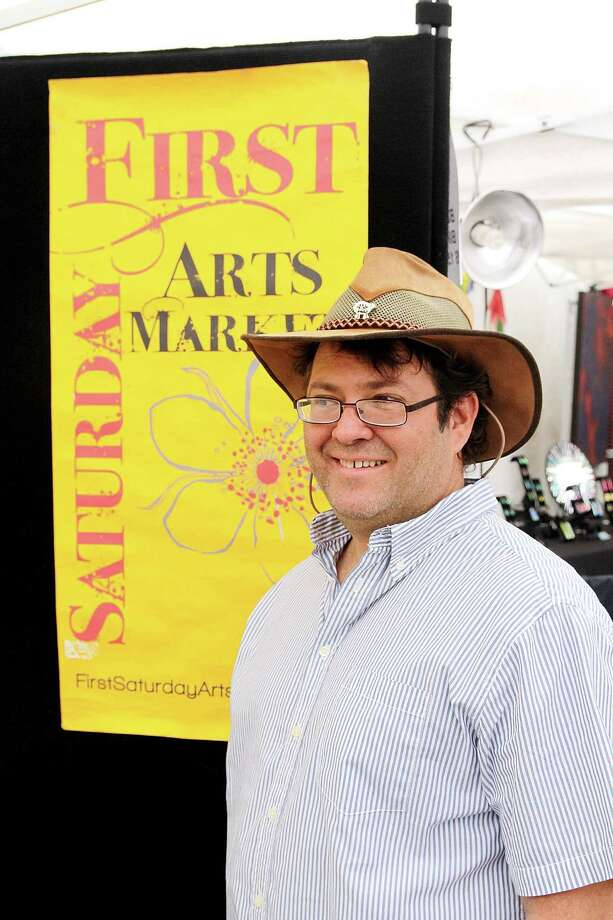 Mitch Cohen said it's been a fun, challenging journey as founder of First Saturday Arts Market, which is celebrates its 10th year. Photo: Pin Lim, Freelance / Copyright Pin Lim.