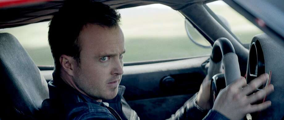 'Breaking Bad' star Aaron Paul is a mechanic/racer driven to seek revenge in 'Need for Speed.' Aaron Paul stars as Tobey Marshall in an exciting return to the great car culture films of the 1960s and ?70s that tap into what makes the American myth of the open road so enticing. 'Need for Speed' chronicles a near-impossible cross-country race against time, one that begins as a mission for revenge, but proves to be one of redemption. Photo: Disney