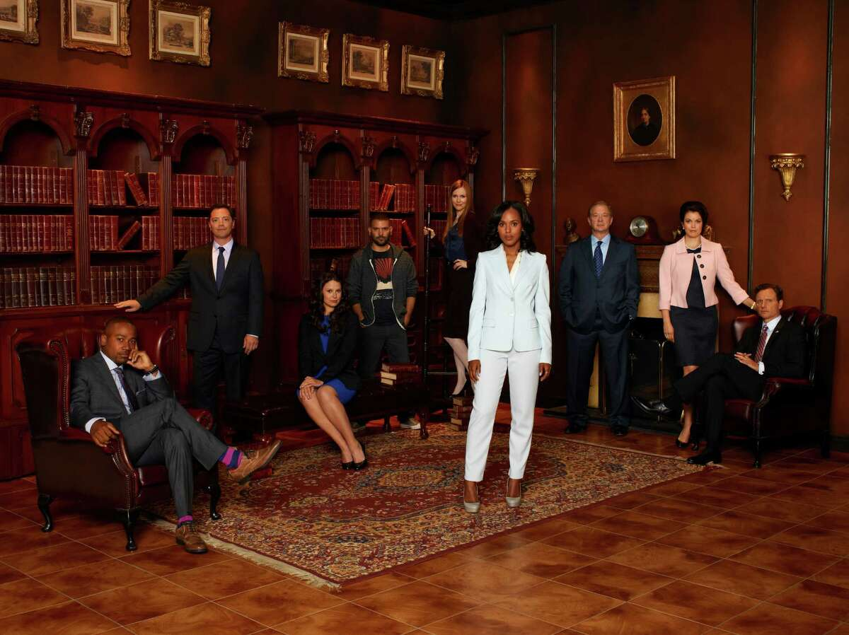 Later, Olivia gets Fitz and First Lady Mellie into the White House bunker to decide messaging strategy in the midst of this new sex scandal. They decide to tell the truth, at least a little bit, with Fitz admitting to dallying with Olivia twice (only twice, right) and apologizing to the country, with Mellie at his side.