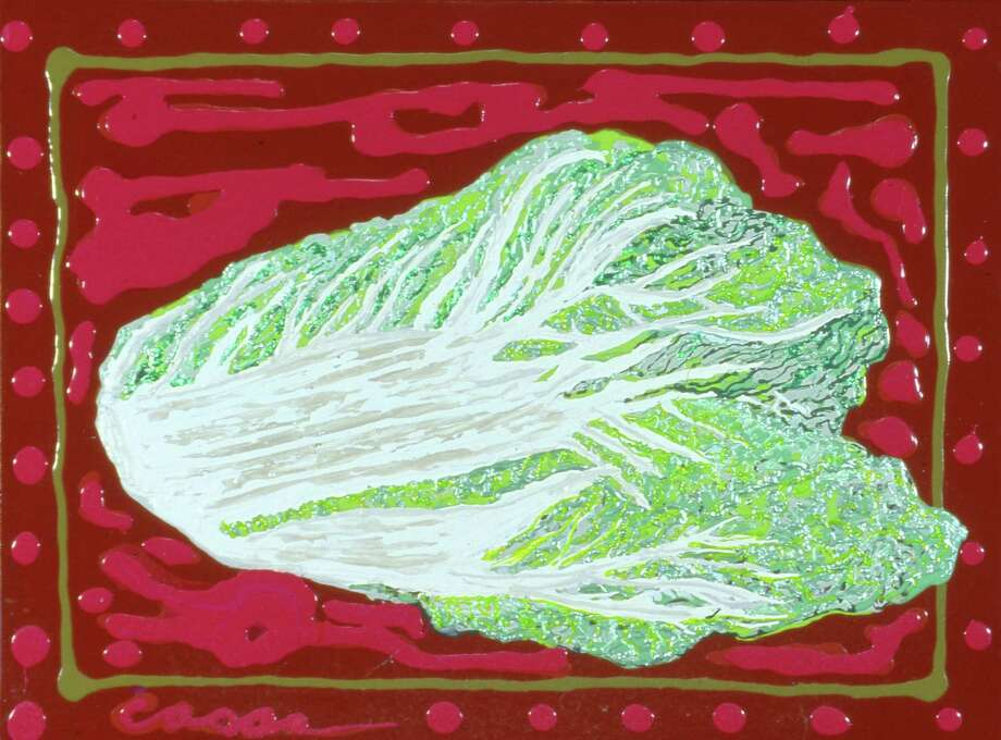 """Humanscape No. 64 (Bok Choy: China's Icon)"" / San Antonio  Express-News"