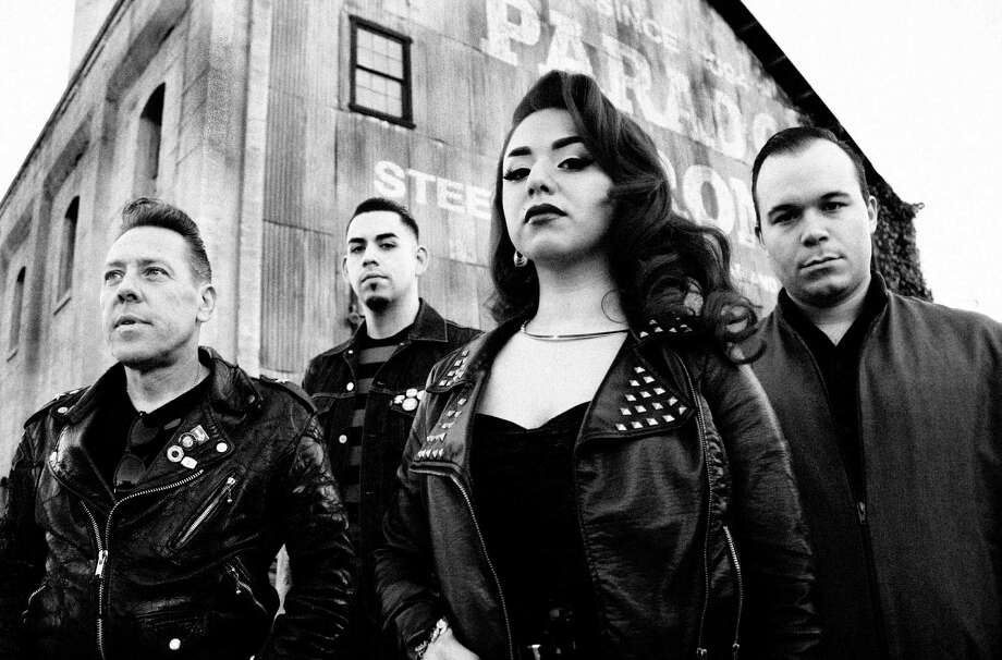 "L.A. rockabilly band the Rhythm Shakers will perform at CineFestival following a screening of ""Los Wild Ones."" Photo: Wild Records / San Antonio Express-News"