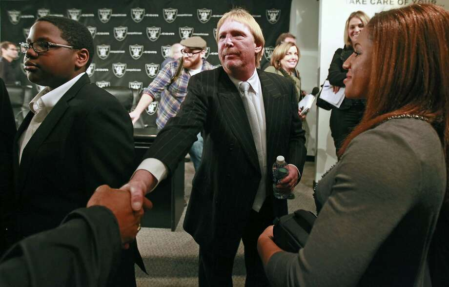 Oakland Raiders owner Mark Davis has stirred up the San Antonio sports world with his expressed interest in the city as a possible home for his NFL team. Photo: Lance Iversen, The Chronicle