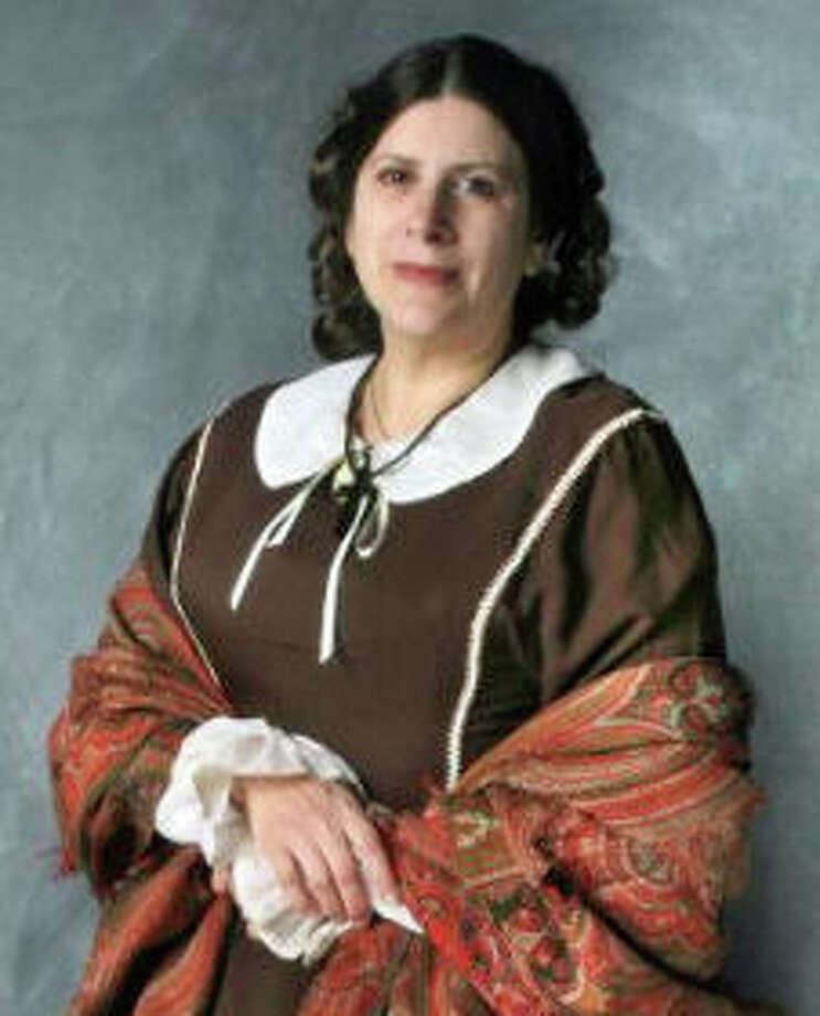 Emma Palzere-Rae will portray Harriet Beecher Stowe as part of a Civil War lecture series at the New Canaan Historical Society. Photo: Contributed Photo, Contributed / New Canaan News Contributed