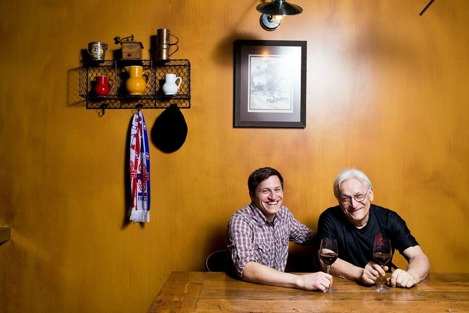 Chef-owner Christian Masse (right), with son Shane, serve French fare - simple, hearty, affordable and completely delicious - at Allez in Diamond Springs. Photo: Jason Henry, Special To The Chronicle