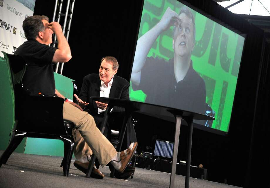 NEW YORK, NY - MAY 24:  Paul Graham of Y Combinator and Charlie Rose (R) during TechCrunch Disrupt New York May 2011 at Pier 94 on May 24, 2011 in New York City.  (Photo by Joe Corrigan/Getty Images for AOL) Photo: Joe Corrigan, Getty Images For AOL