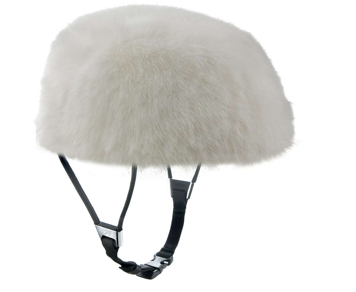 Denmark company Yakkay began selling its vaguely equestrian/safari helmets in the U.S. in 2012 (starting at about around $150), which are a perfect complements to relaxed preppy bike style. Pictured is the Luzern.