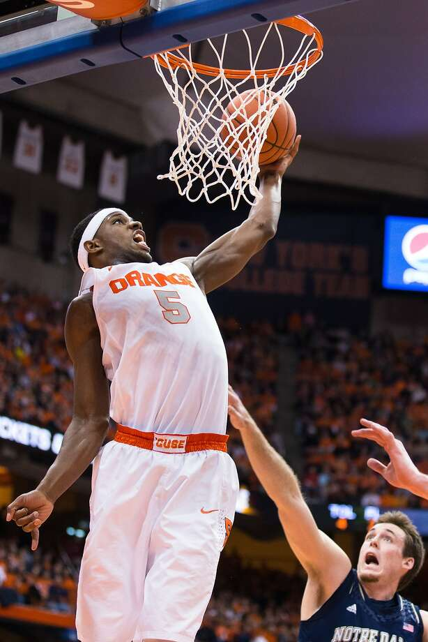 C.J. Fair of Syracuse added 10 points to his scoring average from his freshman year to the 16.5 points he scores as a senior. Photo: Brett Carlsen, Getty Images