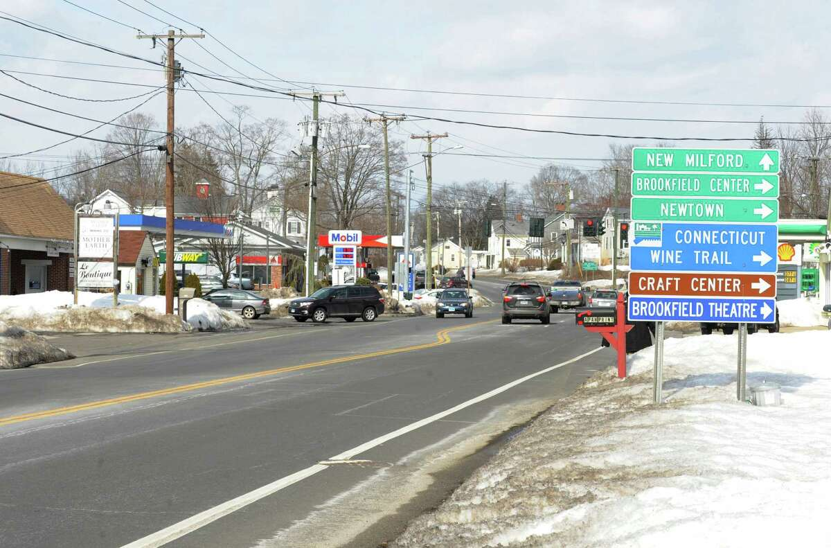 The proposed Four Corners Revitalization Project is along Federal Road in Brookfileld, Conn. The plan calls for creating a family-friendly commercial center in the 175-acre area known as Four Corners.