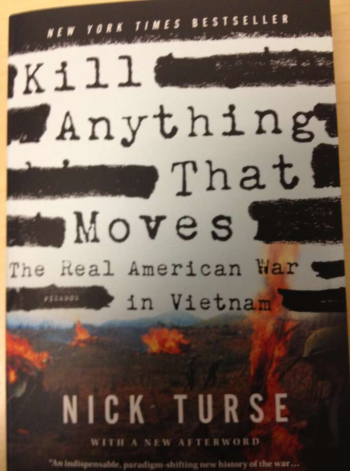 "Cover of ""Kill Anything That Moves"" by Nick Turse"
