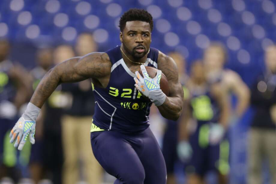 Fit for Seattle: Running backsLike quarterback, running back isn't a position of need for the Seahawks right now. Marshawn Lynch may be nearing the end of his stay in Seattle, but the Hawks have youngsters Robert Turbin and 2013 top pick Christine Michael waiting in the wings. Still, don't put it past GM John Schneider to add another physical runner in the later rounds. A player who could fit that mold is Towson's Terrance West, a bruiser at 5-foot-9 and 225 pounds. Photo: Michael Conroy, Associated Press
