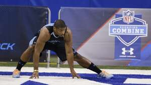 """NFL combine: Top performers and best fits for the Seattle Seahawks     The 2014 NFL scouting combine in Indianapolis wrapped up on Tuesday, and now it's time for team executives, national media and online draftniks to start speculating about who won or lost the """"Underwear Olympics."""" While some performances — like that of Missiouri defensive end Michael Sam (above) — disappointed, other players thrilled with their displays of sheer athleticism and skill.   Click through the gallery to see who helped themselves in Indy, as well as some players who might be nice additions to the Super Bowl XLVIII-champion Seattle Seahawks."""