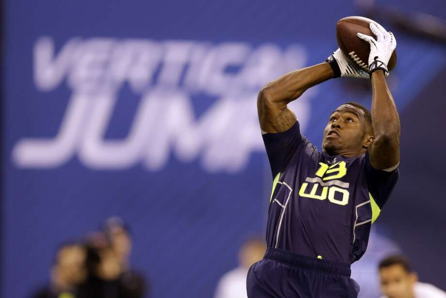 Top performer: Wide receiversAlready considered a sure-handed pass-catcher and polished route-runner, Oregon State's Brandin Cooks posted a 4.33 in the 40, fastest among all receivers. He also set a combine record in the 60-yard shuttle, reaffirming scouts' opinions that he's one of the most dangerous after-the-catch wideouts in the draft. At 5-foot-10, the 2013 Biletnikoff Award winner lacks ideal size for a No. 1 receiver, but the great all-around workout — combined with his productive career with the Beavers — could have earned him a spot in the draft's first round. Photo: Michael Conroy, Associated Press