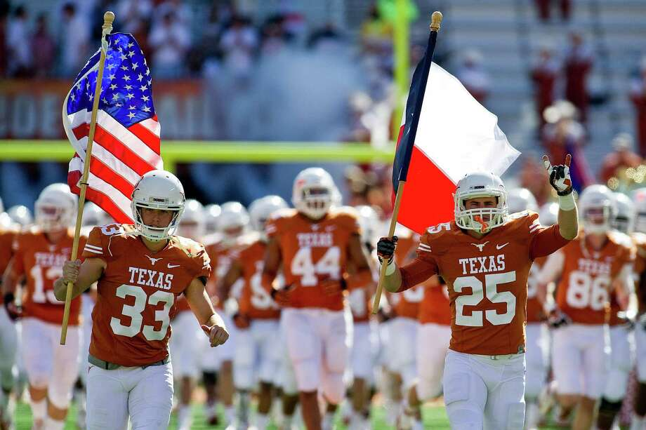 With football the biggest draw in a program that pioneered corporate collegiate sponsorships, Texas led the nation in 2013 with $165.7 million in athletics revenue, beating No. 2 Alabama by $22.3 million. Photo: Mario Cantu, CTR / Cal Sport Media2013